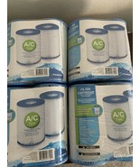 Lot of 8 Polygroup Type A /C Pool Filter Cartridges Universal Replacement - $32.50