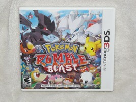 Pokemon Rumble Blast (Nintendo 3DS, 2011) TESTED COMPELTE - $14.84