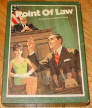 POINT OF LAW GAME 1972 3M CO COMPLETE EXCELLENT - $20.00