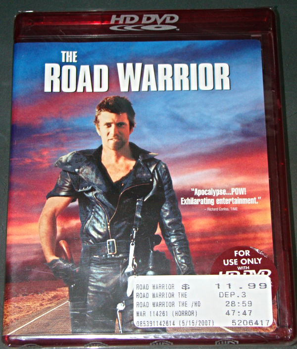 Primary image for HD DVD - THE ROAD WARRIOR