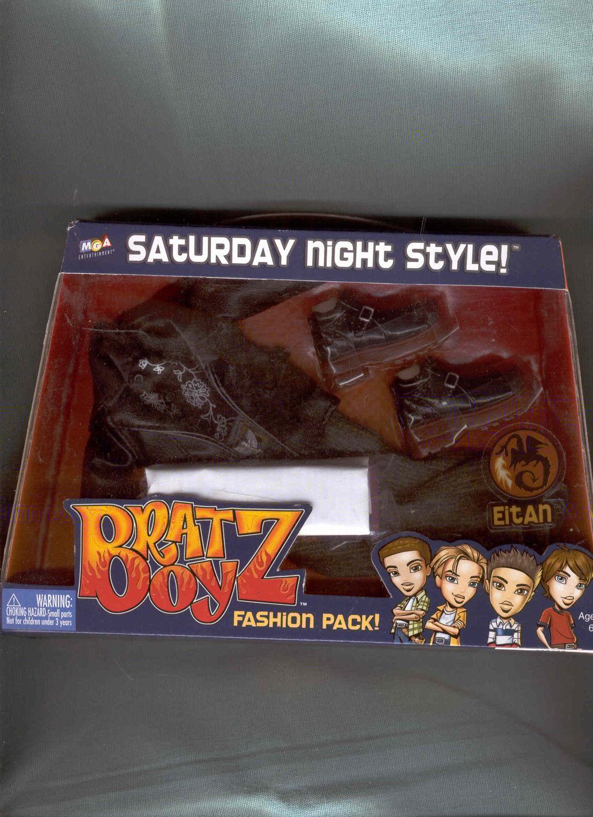 BRATZ BOYZ SATURDAY NIGHT STYLE OUTFIT 2003 MGA ENTERTAINMENT  - $14.99