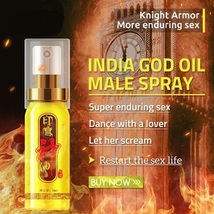 FREE SHIPING Strong Man Pe-nis Enlar-gemnt India Oil 4 Vi-agra Male De-l... - $19.99+