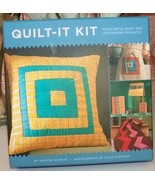 Quilt-It Kit 15 Colorful Quilt And Patchwork Projects - $18.00