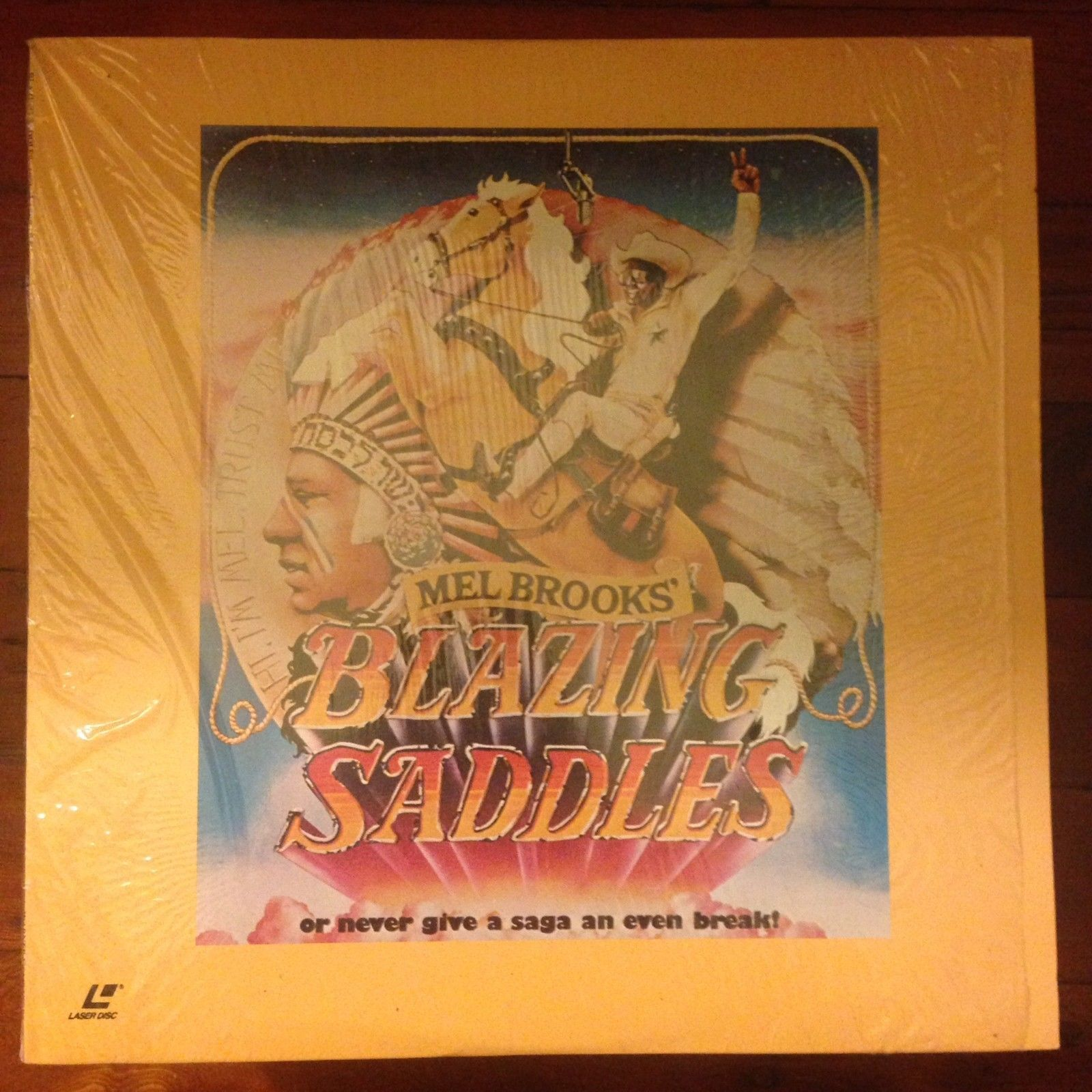 Primary image for BLAZING SADDLES Laserdisc LD Mel Brooks Comedy Classic IN SHRINK