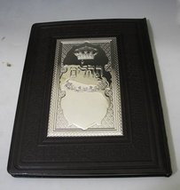 Tehilim Leather & Sterling Silver Cover [Kitchen] - $298.98