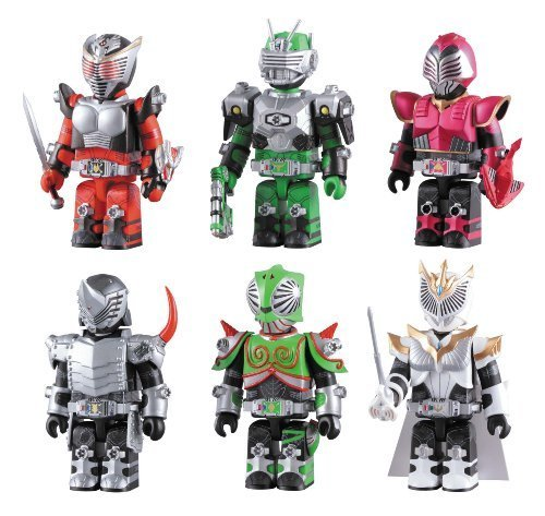 Primary image for Kamen Rider Dragon Knight Kubrick Set [Toy]