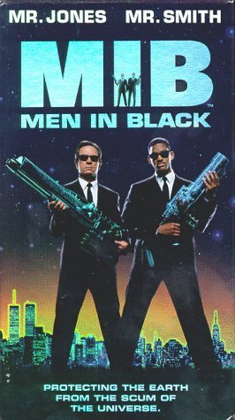 Primary image for Men In Black...Starring: Tommy Lee Jones, Will Smith, Vincent D'Onofrio (VHS)