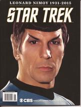 Star Trek Leonard Nimoy Mr. Spock 1931-2015 Commemorative Edition Magazi... - $29.95