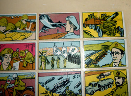 Vintage 1960's Comic Army Israel IDF Stickers Decals Page Israeliana Rare image 4