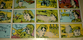 Vintage 1960's Comic Army Israel IDF Stickers Decals Page Israeliana Rare image 6