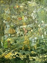 16X20 inch Richard Dadd CanvasArt the Fairy Feller's Master-Stroke - $23.70