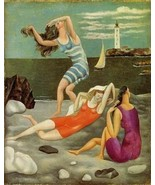 16X20 inch Picasso Pablo The Bathers Canvas Art Reproduction - $23.70