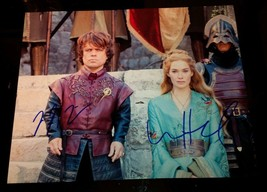 Game of Thrones Lena Headey & Peter Dinklage Hand Signed Autographed pho... - $129.99