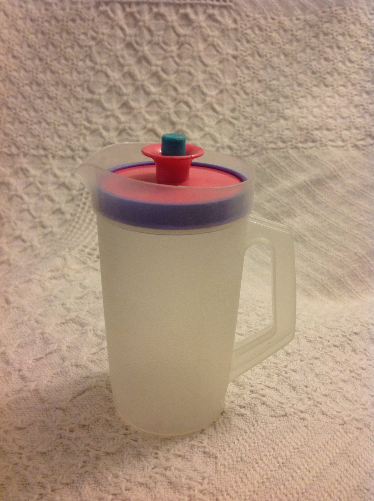 "Primary image for Tupperware Mini Kids Play Toy 5"" Pitcher"