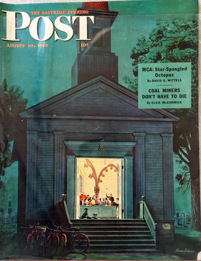 Primary image for The Saturday Evening Post August 10, 1946 - FULL MAGAZINE