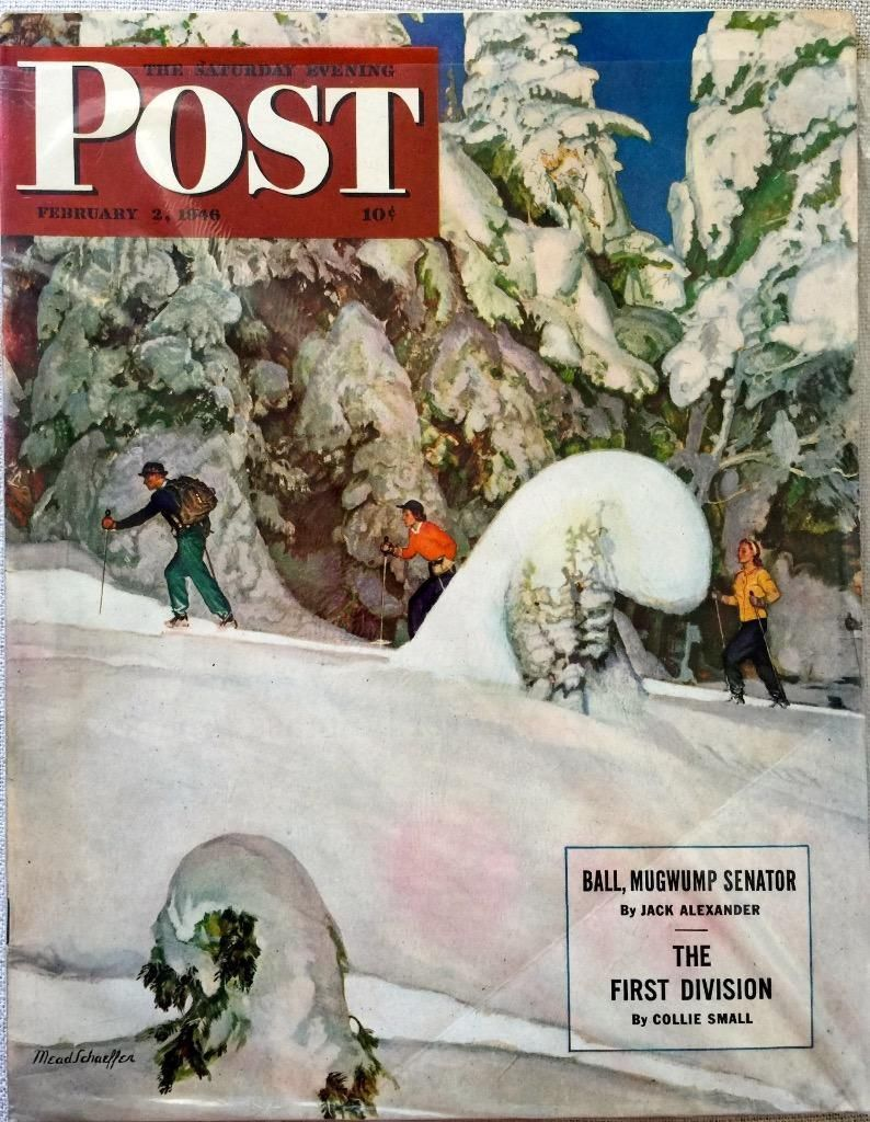 Primary image for The Saturday Evening Post February 2, 1946 - FULL MAGAZINE