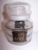 Canister Storage Apothercary Jar Glass Souvenir... - $2.96