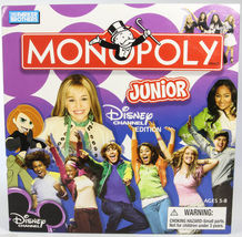 MONOPOLY Jr Junior Board Game Disney Channel Edition Complete New - $12.99