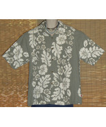 MCD Classics Hawaiian Shirt Dusty Green Large - $14.95