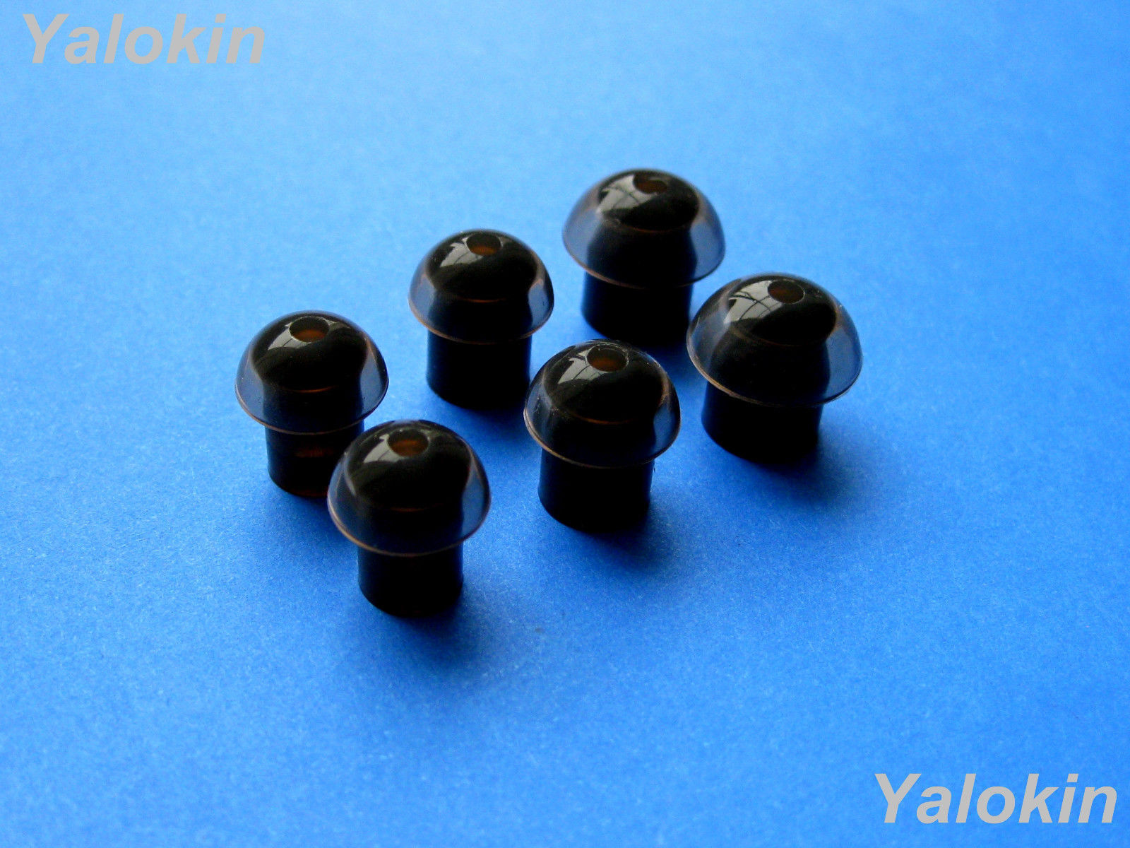 Primary image for 6pcs S/M/L (B-N-MH) Noise Isolation Replacement Eartips for Scosche Earphones