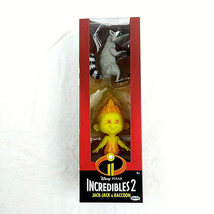 Disney Pixar Incredibles 2 JACK-JACK And Raccoon Brand New Action Figure 2 Pack - $9.88