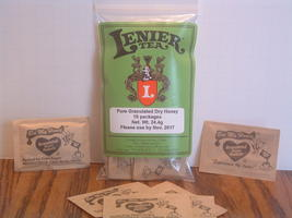 Lenier's Dry Granulated Honey packets ( 2/10 packs) Free Shipping
