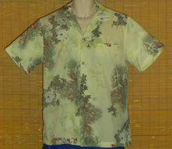RJC Limited Hawaiian Shirt Pale Green Medium - $19.99