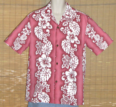 Royal Creations Hawaiian Shirt Pink Large - $24.95