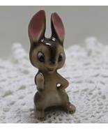 Vintage Porcelain MINIATURE Rabbit Figurine - $11.00