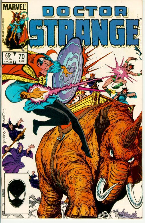 Primary image for DOCTOR STRANGE #70 (1974 Series)