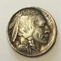 1914-S Buffalo Nickel 5C - FULL HORN CHOICE XF+ - A little Dark - Better... - $96.70