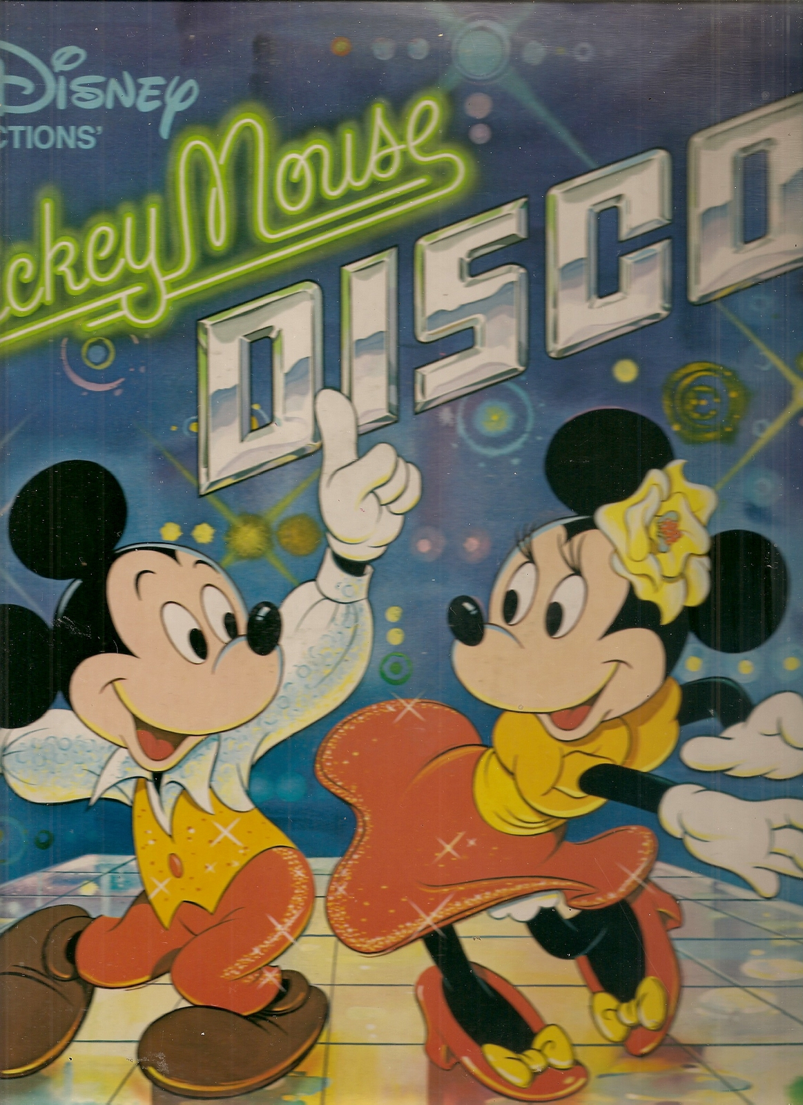 Primary image for LP--MICKEY MOUSE DISCO