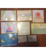 Handmade Baby Cards x9 by Burgoyne, Paper Made and Hallmarkp 3 D and emb... - $15.99