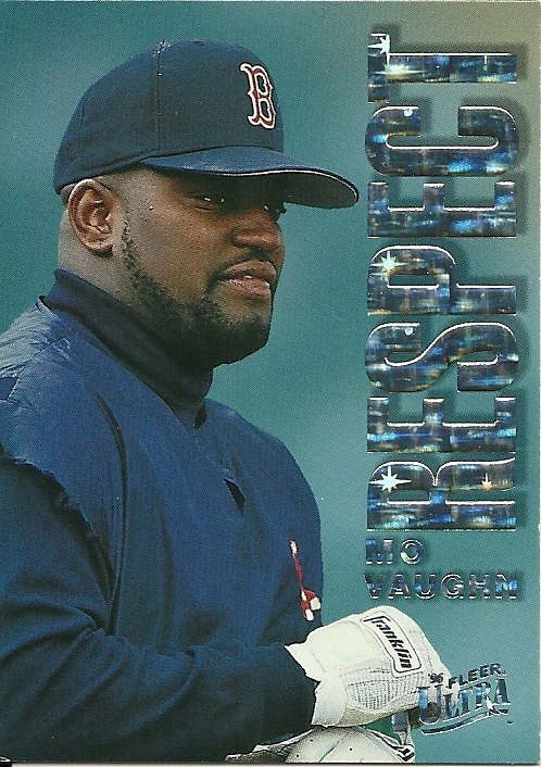 Primary image for 1996 Ultra Respect Mo Vaughn 10 Red Sox