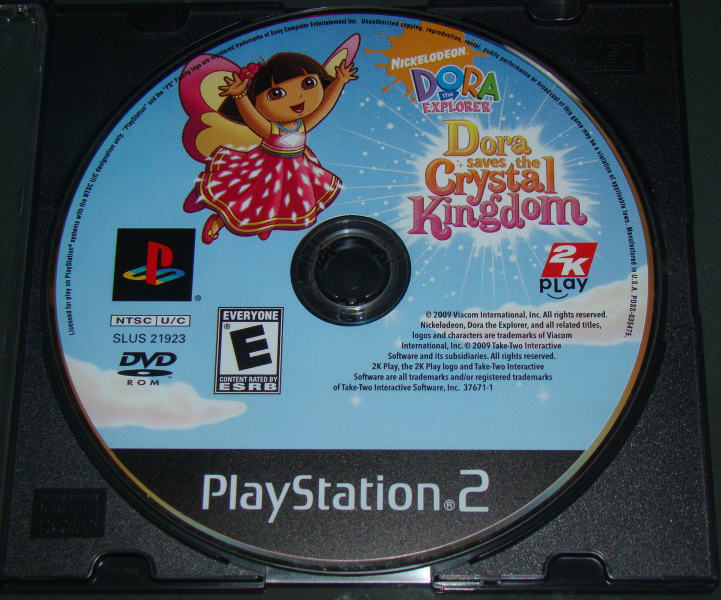 Primary image for Playstation 2 - DORA the EXPLORER - Dora saves the Crystal Kingdom (Game Only)