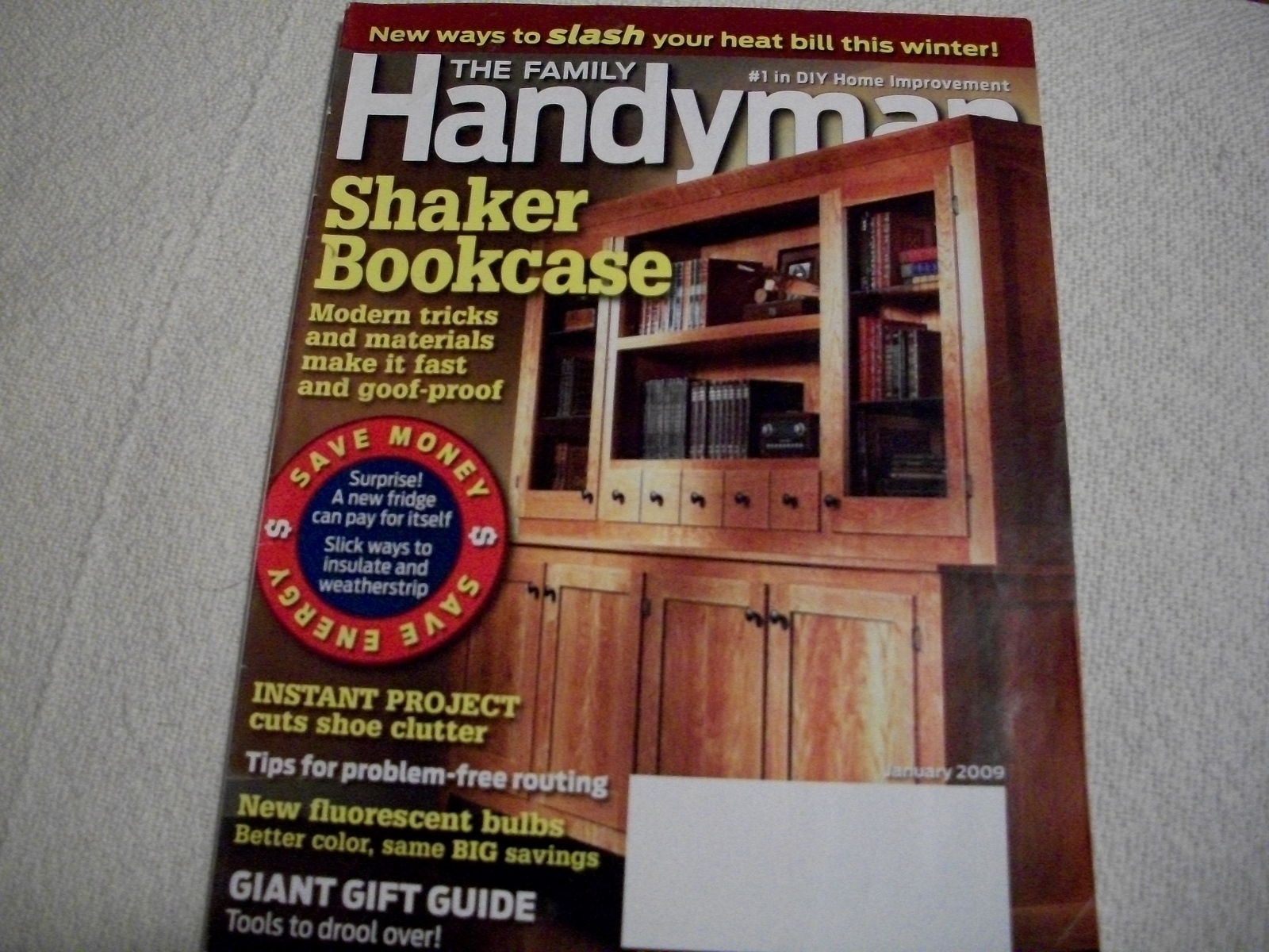 Primary image for The Family Handyman January 2009