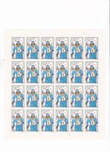 1980 Winter Olympics Republic Of Congo Full Sheet With Information Card Lake Pla - $6.78