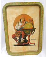 1926 Antique Serving Tray-Norman Rockwell Print By Curtis Publishing  #7787 - $14.99