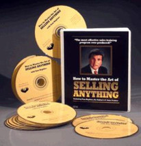 TOM HOPKINS - MASTER THE ART OF SELLING 12 CD INCREASE YOUR SALES NOW  M... - $178.08