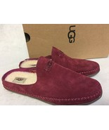 UGG Australia Tamara Garnet Suede Red Wine Moccasin Slipper shoes slip 1... - $59.99