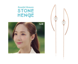 StoneHenge Stone Henge  I0157 EARRING Jewelry Gift KOREA Drama Park Min Young - $259.00