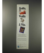 1991 Ball Home canning products Ad - Healthy, wealthy & wise. - $14.99