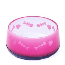 Super Design Acrylic Bowl with Fish/Bone Pattern,for Dogs and Cats,Non-S... - $12.12