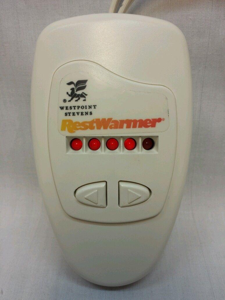 Westpoint Stevens Heated Mattress Pad Replacement Control