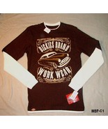 Authentic Dickies Size Jr. Small Brown Tee Shirt NWT - $10.99
