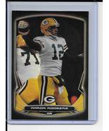 Aaron Rodgers Rainbow Black Foil Refractor 2014 Bowman Chrome Card 11 Packers   - £2.19 GBP