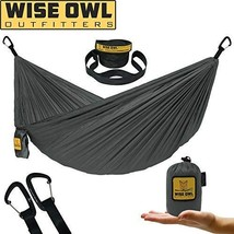 Wise Owl Outfitters Ultralight Camping Hammock with Tree Straps - Feathe... - $36.21
