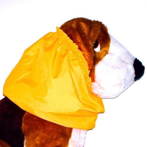 Primary image for Dog Snood Yellow Orange Water Resistant Nylon Cocker Spaniel Puppy REGULAR