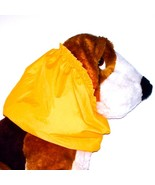 Dog Snood Yellow Orange Water Resistant Nylon Cocker Spaniel Puppy REGULAR - $12.00
