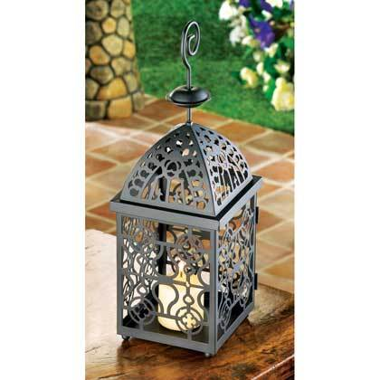 2 - Moroccan Birdcage Candle Lanterns